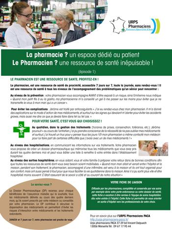La Pharmacie ? Un Espace Dédié Au Patient. Le Pharmacien ? Une Ressource De Santé Inépuisable !