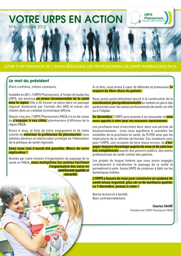 Newsletter Octobre 2015