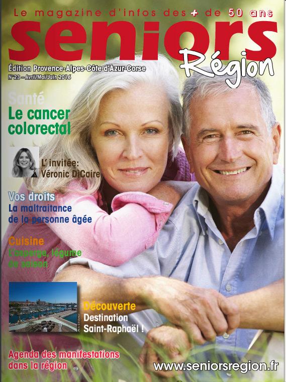 Votre URPS Est Présente Dans Le Nouveau Magazine SENIORS