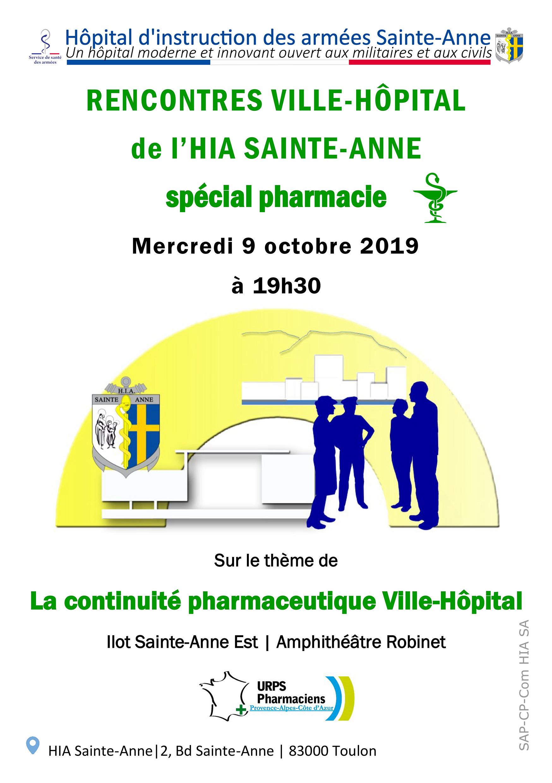Rencontres Ville-Hôpital De L'HIA Sainte-Anne
