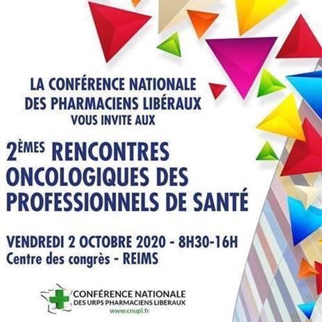 CNUPL : 2èmes Rencontres Oncologiques Des Professionnels De Santé